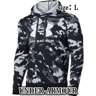 UNDER ARMOUR - 【新品・未使用品・匿名配送】アンダーアーマー ビッグロゴフリース