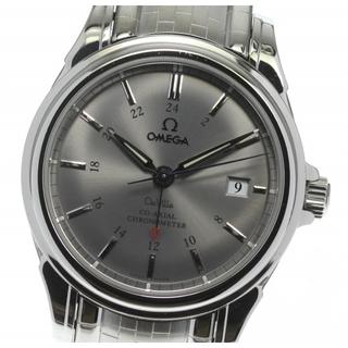 オメガ(OMEGA)の☆良品 オメガ デビル GMT コーアクシャル 4533.41 メンズ 【中古】(腕時計(アナログ))