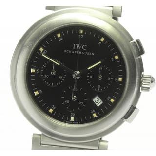 インターナショナルウォッチカンパニー(IWC)のIWC リトル ダヴィンチ クロノグラフ IW3728 メンズ 【中古】(腕時計)
