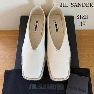 ジルサンダー(Jil Sander)のJil sander ジルサンダー  エスパドリーユ  スリッポン 新品同様(スリッポン/モカシン)