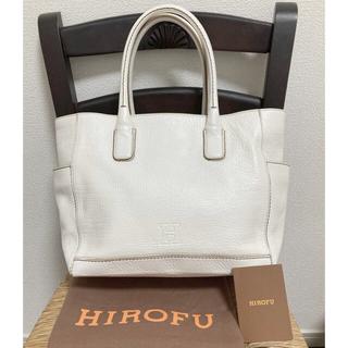 【美品】HIROFU ヒロフ:ショルダー/トートバッグ(ショルダーバッグ)