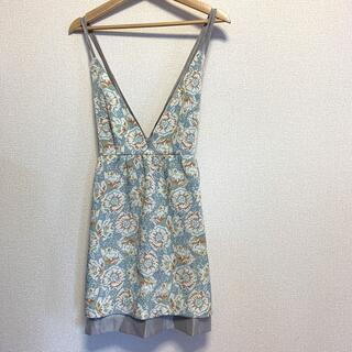 MINIMUM - minimum ワンピース ゴブラン織 ジャンパースカート