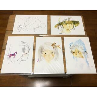 いわさきちひろ ポストカード5枚(写真/ポストカード)