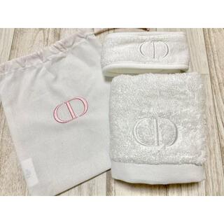 Christian Dior - 新品 ディオール ノベルティ タオル ヘアバンド