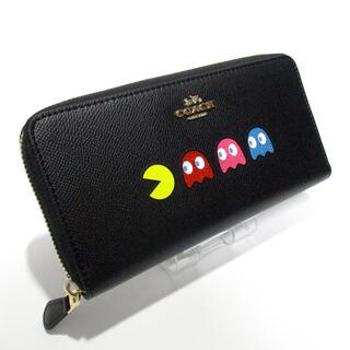 COACH - COACH 長財布 未使用 [137] F73397 パックマン ブラック