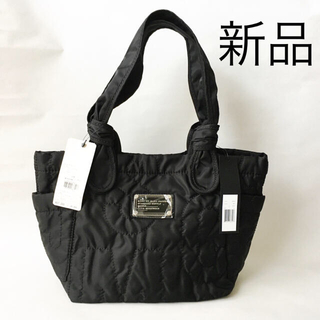 MARC BY MARC JACOBS - 【新品タグ付き】キルティングトートバッグ ブラック 黒