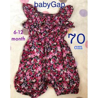 babyGAP - ロンパース★70cm★babyGap♪6-12month♡花柄❁夏コーデ☆