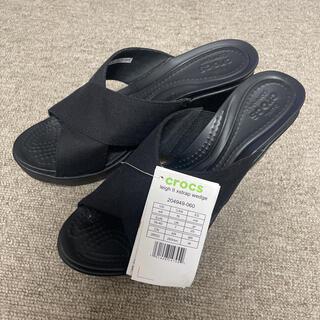crocs - 【新品タグ付】クロックス サンダル(25cm)