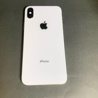 iPhone - iPhoneX 64GB シルバー ドコモ SIM解除済 本体のみ