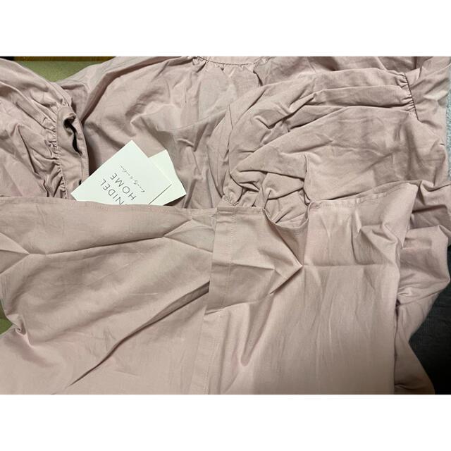 snidel(スナイデル)の熊ポン様専用 新品 スナイデルホーム神崎恵さんコラボ コットンロングワンピース レディースのワンピース(ロングワンピース/マキシワンピース)の商品写真