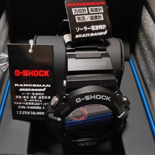 G-SHOCK - 【新品未使用未開封】G-SHOCK RANGEMAN GW-9400BJ-1JF