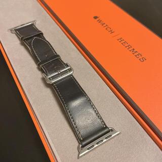Apple Watch - Apple Watch エルメス 革ベルト アップルウォッチ ディプロイアント