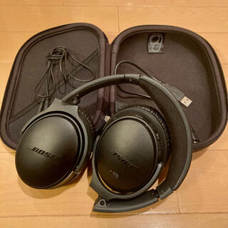 ボーズ(BOSE)のBose QuietComfort35 wireless headphones①(ヘッドフォン/イヤフォン)