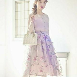tocco - 花柄スカート