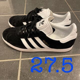 アディダス(adidas)のadidas/GAZELLE   27.5センチ ブラック(スニーカー)