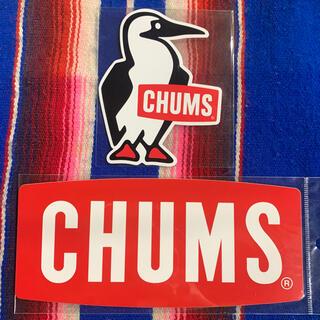 CHUMS - 新品 CHUMS Sticker 2枚セット チャムス ステッカー l