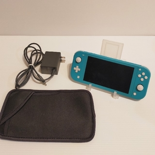 Nintendo Switch - Nintendo Switch lite ターコイズ 箱無し キャリーケース付き