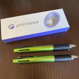 ミツビシ(三菱)のuni ジェットストリーム4色+シャーペン 2本セット(ペン/マーカー)