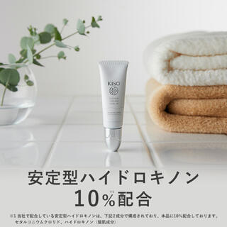 【KISO】ハイドロキノン 10%配合クリーム 新品