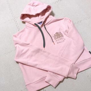 新品 英国ロイヤルバレエ パーカー ピンク ウォームアップ yumiko