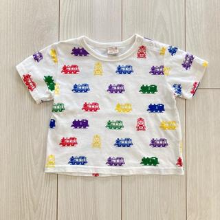 petit main - 90cm プティマイン トーマスTシャツ