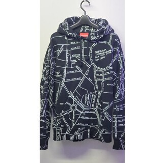 シュプリーム(Supreme)のSupreme GONZ Embroidered Map Hooded パーカー(パーカー)