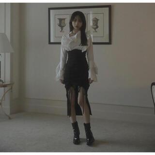 Bubbles - melt the lady ハイウエストフロントオープンスカート