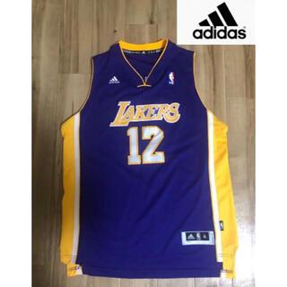 アディダス(adidas)のadidas Lakersユニホームゲーミングシャツ XLタンクトップ(タンクトップ)