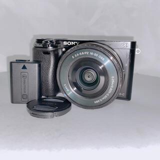 SONY - SONY α6000  ボディ 本体 16-50mm パワーズームレンズ