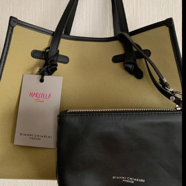 GIANNI CHIARINIジャンニキアリーニマルチェッラ   レディースのバッグ(トートバッグ)の商品写真