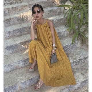 Ameri VINTAGE - Amerivintage medi lamp halter neck dress