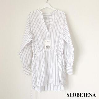 IENA SLOBE - 【新品未使用】SLOBE IENA  スローブイエナ ストライプシャツ