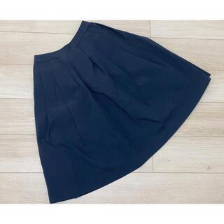 【美品】UNIQLO ユニクロ ネイビースカート