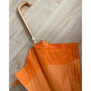 ルイヴィトン(LOUIS VUITTON)のLOUIS VUITTON ヴィトン  傘 オレンジ レア(傘)