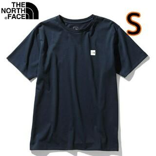 THE NORTH FACE - ノースフェイス Tシャツ 半袖 S ネイビー ボックスロゴ