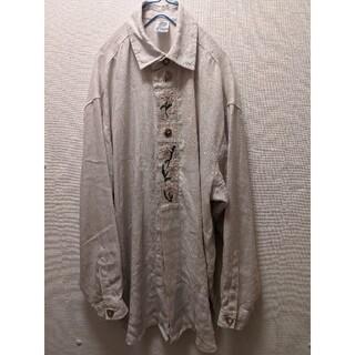 1LDK SELECT - ヴィンテージ チロリアン 刺繍シャツ