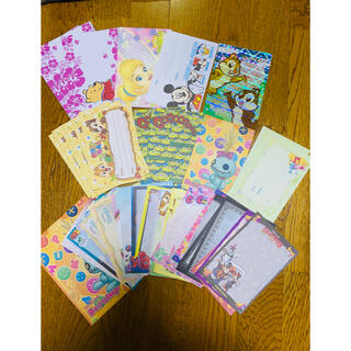 ディズニー(Disney)のディズニーメモ帳、便箋、シール(ノート/メモ帳/ふせん)