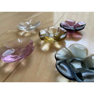 スガハラ(Sghr)のsghr ガラス箸置き 5個セット(食器)