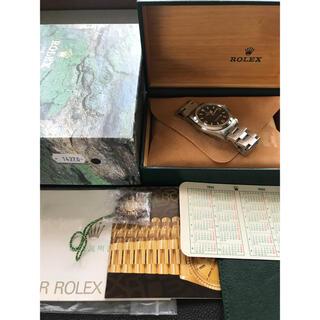 ROLEX - ロレックス エクスプローラー1 14270 S番 トリチウム シングルバックル
