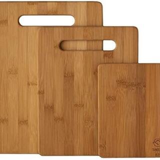 【天然素材】TAKEMI 竹製 まな板 3点セット 抗菌 軽量な環境に優しい 竹