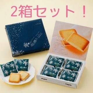 イシヤセイカ(石屋製菓)の石屋製菓 白い恋人 12枚入り×2箱セット ホワイト(菓子/デザート)