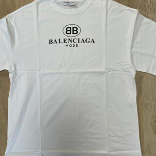 Balenciaga - BALENCIAGA(バレンシアガ)BBロゴプリントTシャツ
