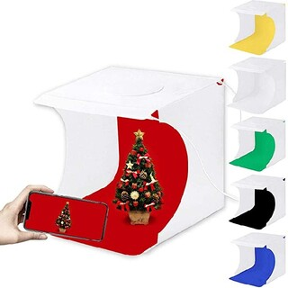 撮影ボックス 写真「 ミニ/サイズ的に小物専用なフォトボックス小型LEDライト(その他)