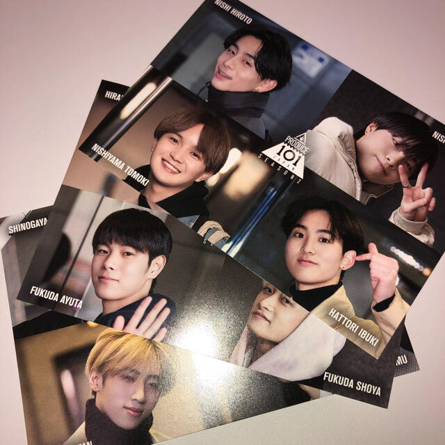 101 HMV ポストカード エンタメ/ホビーのタレントグッズ(アイドルグッズ)の商品写真