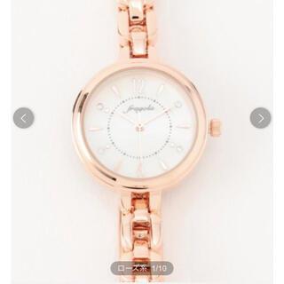エニィスィス(anySiS)の新品未使用 腕時計 時計 any SiS サークル フレーム ウォッチ ローズ系(腕時計)