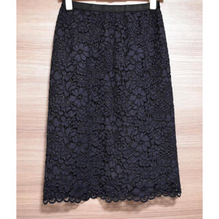アナイ(ANAYI)のANAYI 2019 レーススカート.(ひざ丈スカート)