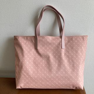 ゲラルディーニ(GHERARDINI)のゲラルディーニ バッグ トートバッグ 大型 トート 桜色 ピンク 2ウェイ 美品(トートバッグ)