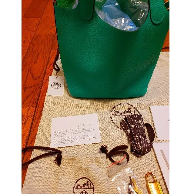 Hermes(エルメス)の未使用★HERMES♥ピコタンロックPM バンブーカラー レディースのバッグ(ハンドバッグ)の商品写真