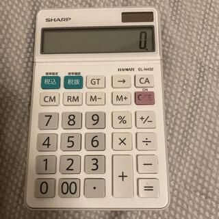 シャープ(SHARP)のSHARP 電卓(オフィス用品一般)