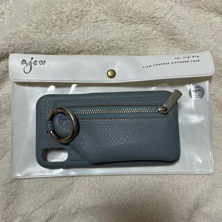 ビューティアンドユースユナイテッドアローズ(BEAUTY&YOUTH UNITED ARROWS)のajew cadenas zipphone case i phone XR(iPhoneケース)